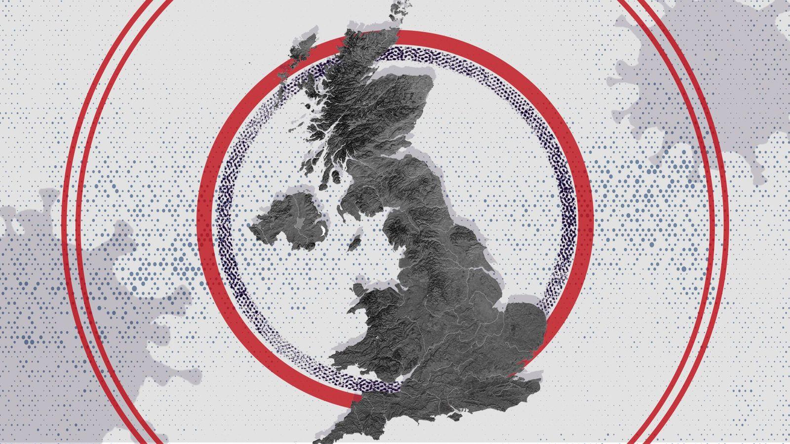 COVID-19: Where are the coronavirus hotspots in the UK?