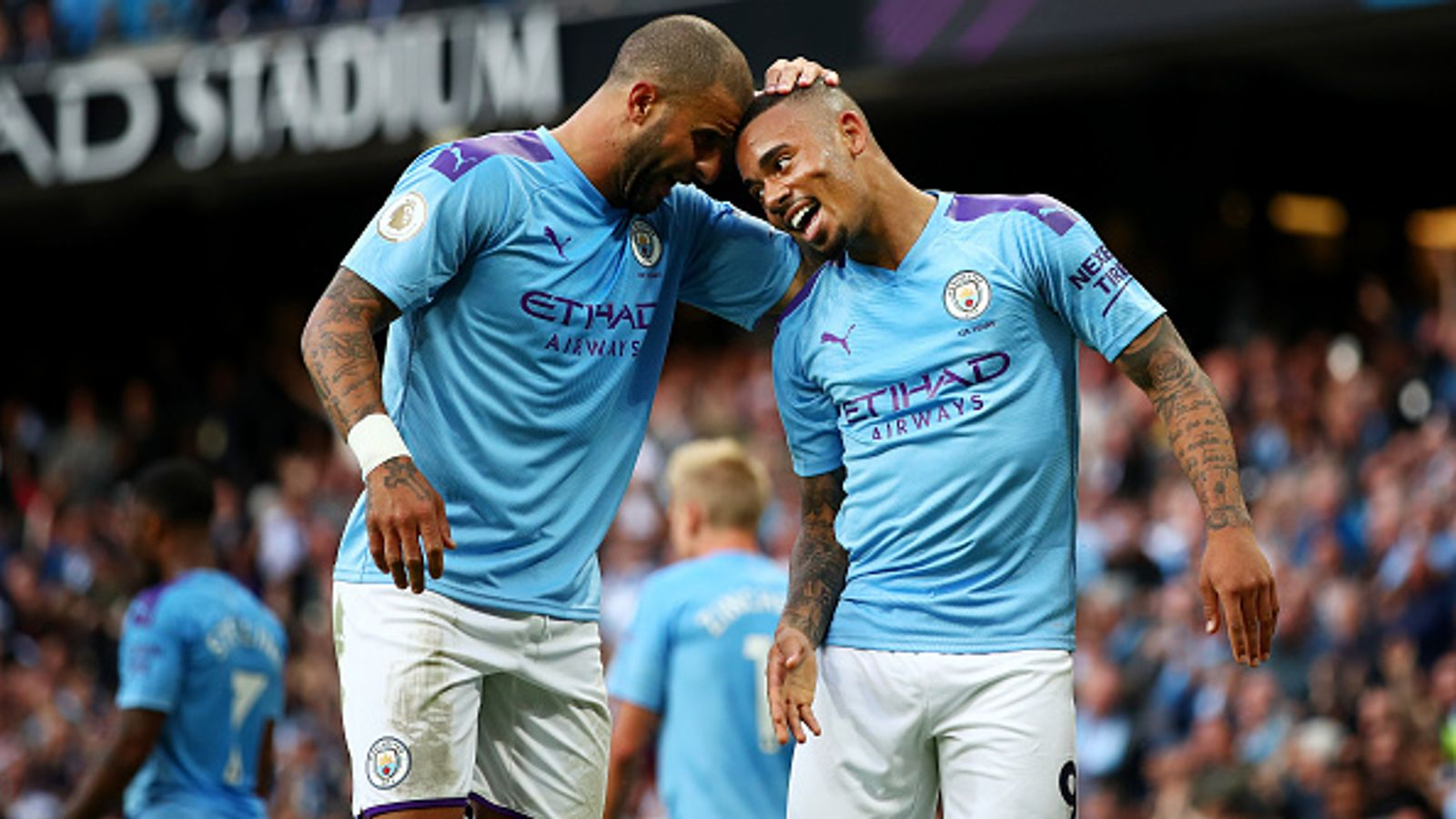 Manchester City's Gabriel Jesus and Kyle Walker, Two Staff Members Test Positive for Coronavirus