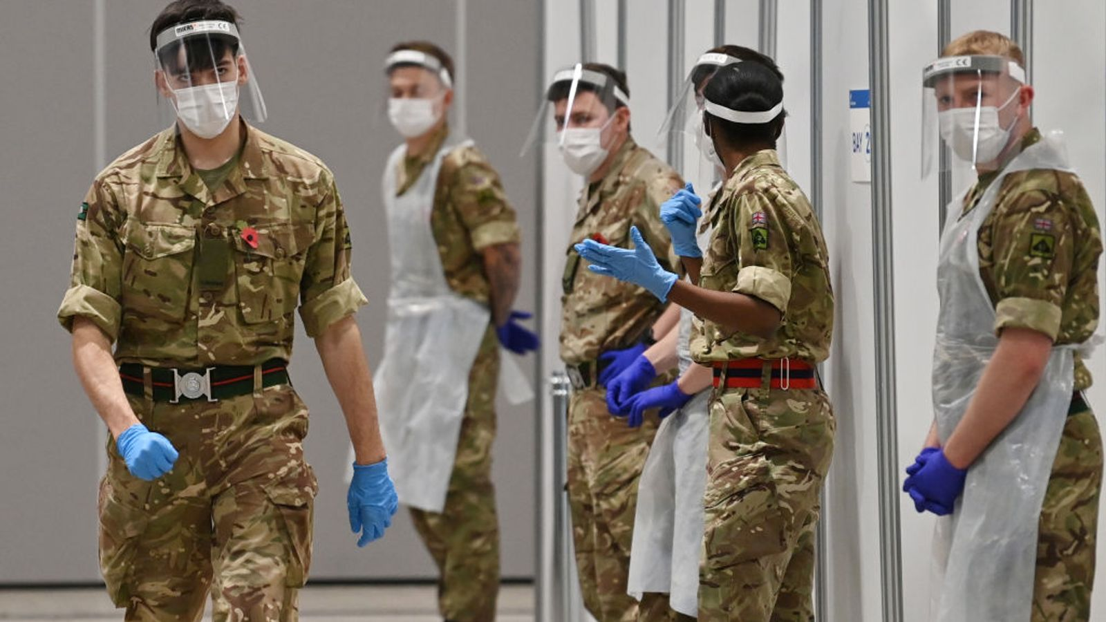 COVID-19: 'No capacity' - Northern Ireland pleads for armed forces to help 'exhausted' hospital staff with patients