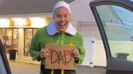 Doug Henning, ready to meet his dad. Pic: @finnandboonthego