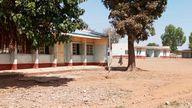 The Government Science Secondary School in Kankara district, in northwestern Katsina state, Nigeria