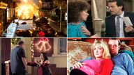 Some of the memorable cliffhangers that have gripped UK audiences