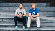 Taavet Hinrikus, left, and Kristo Kaarmann, right, founded the payments group less than a decade ago