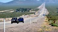 US Highway 95 in Nevada