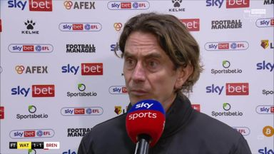 Frank: We destroyed Watford in first half