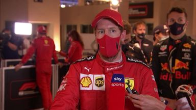 Emotional day for Vettel