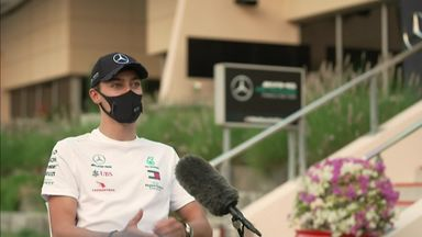 Sky exclusive: Russell on big Mercedes chance