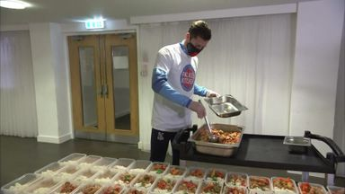 Palace launch food kitchen to provide meals