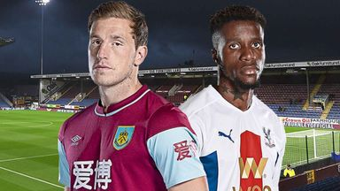 MNF: Burnley v Crystal Palace