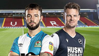EFL Hlts: Blackburn v Millwall