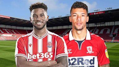EFL Hlts: Stoke v Middlesbrough
