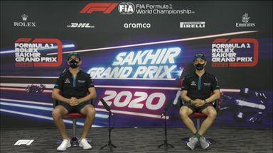 Williams: Sakhir GP press conference