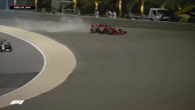 Vettel struggling in P2