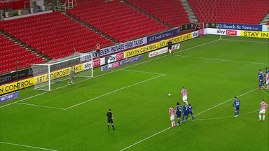 Smithies saves Vokes' penalty