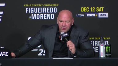 White: 2020 was a great year for UFC