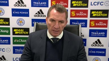 Rodgers: Leicester showed spirit