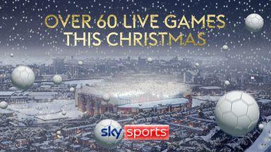 Festive football on Sky Sports