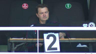 England's secret signals