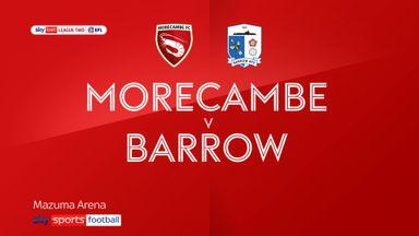 Morecambe 1-0 Barrow