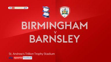 Birmingham 1-2 Barnsley