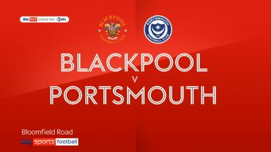 Blackpool 1-0 Portsmouth