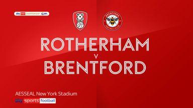 Rotherham 0-2 Brentford