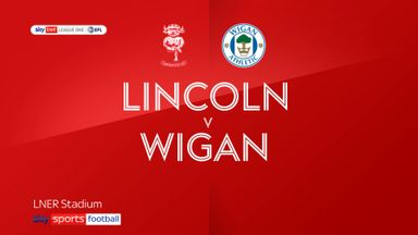 Lincoln 2-1 Wigan