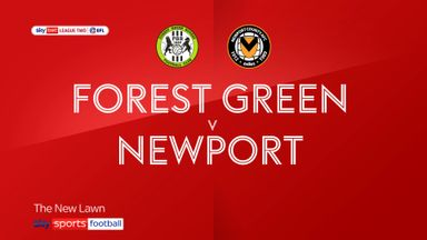 Forest Green 1-1 Newport