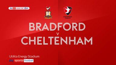 Bradford 1-2 Cheltenham