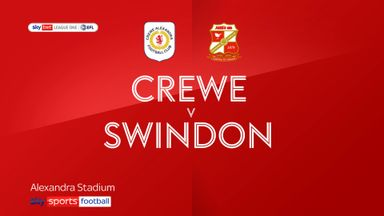 Crewe 4-2 Swindon