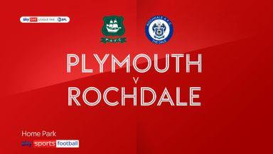 Plymouth 0-4 Rochdale