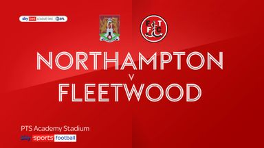 Northampton 1-0 Fleetwood