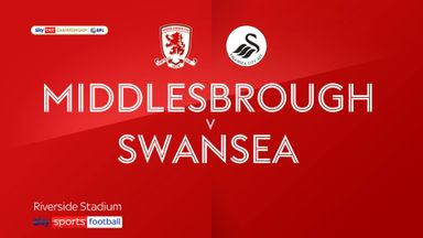 Middlesbrough 2-1 Swansea