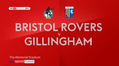 Bristol Rovers 0-2 Gillingham