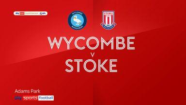 Wycombe 0-1 Stoke