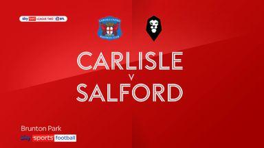 Carlisle 2-1 Salford