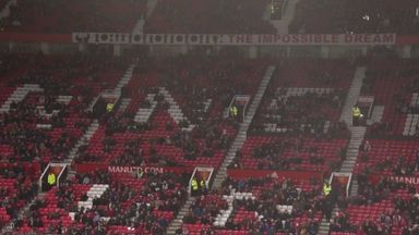 Man Utd to install 1,500 barrier seats in 2021