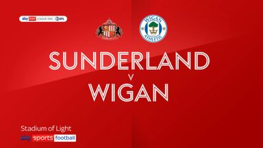 Sunderland 0-1 Wigan