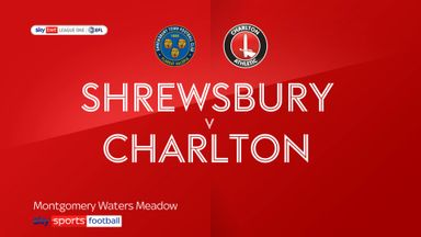 Shrewsbury 1-1 Charlton