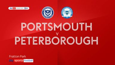 Portsmouth 2-0 Peterborough