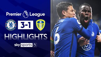 Chelsea move top with win over Leeds