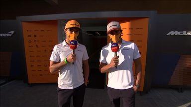 Carlos & Lando: The Sky F1 Takeover!