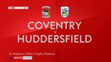 Coventry 0-0 Huddersfield