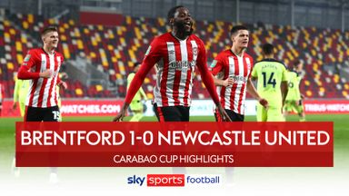 Brentford 1-0 Newcastle
