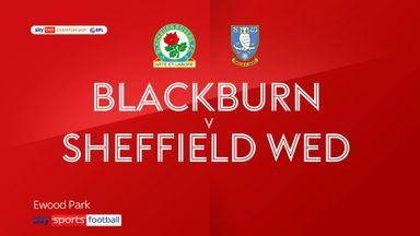 Blackburn 1-1 Sheffield Wed