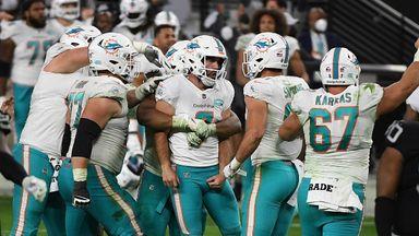 Raiders 25-26 Dolphins