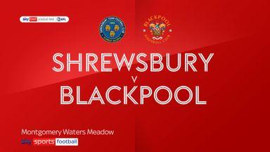 Shrewsbury 1-0 Blackpool