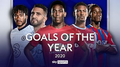 Premier League Goals of 2020
