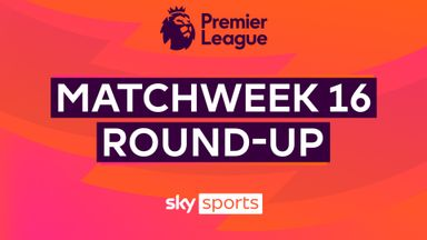 Premier League Matchweek 16 Round-up