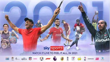 2021 on Sky Sports
